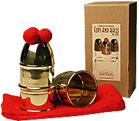Cups & Balls Brass Regular by Bazar de Magia