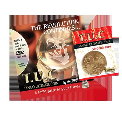 Tango Ultimate Coin w/DVD (T.U.C)(E0080)50 cent Euro  by Tango