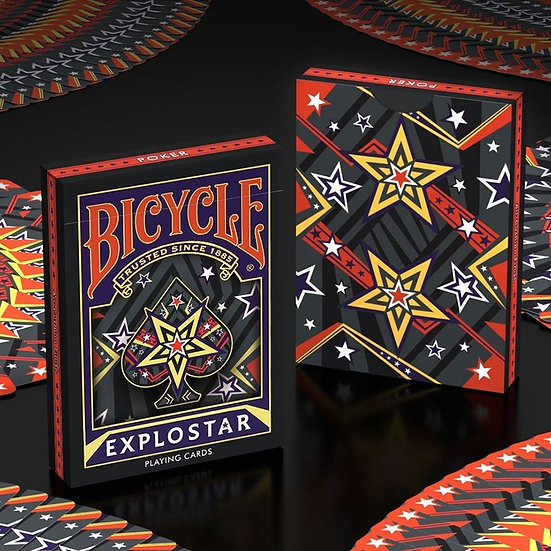 *Bicycle - Explostar Playing Cards