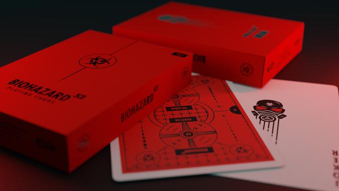 Biohazard Playing Cards