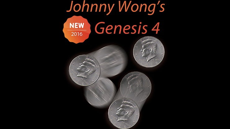 Johnny Wong's Genesis 4 (with DVD) by Johnny Wong