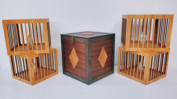 Everything to 4 Dove Cages (Wooden) by Tora Magic