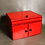 Thumbnail: Drop Down Mirror Box (Large/Red) by Ickle Pickle