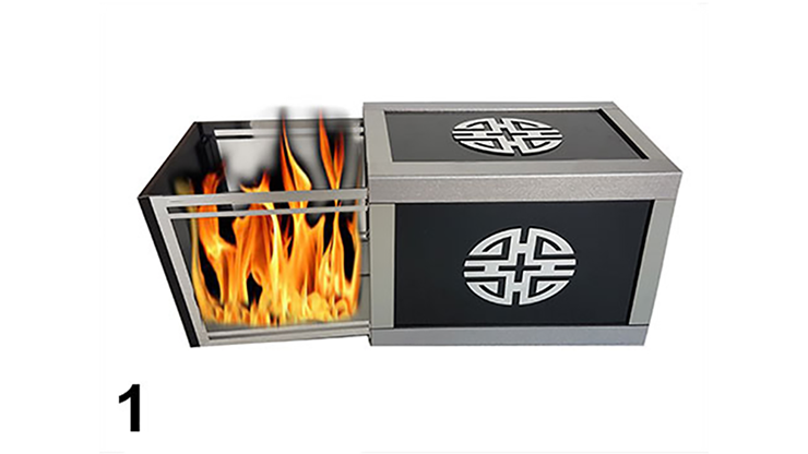 Exchange Drawer Box 3 Times With Materials by Tora Magic- Trick