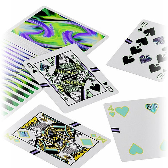 *Ultra Playing Cards - Green