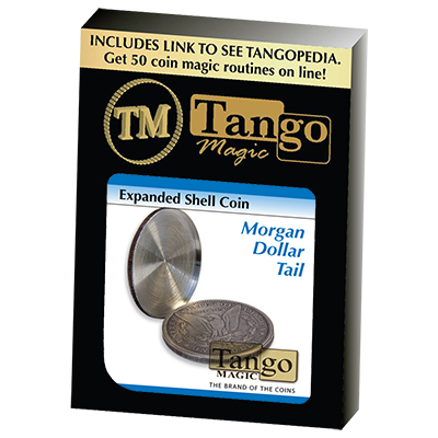 Expanded Shell Coin - Morgan Dollar (Tail) (D0099) by Tango