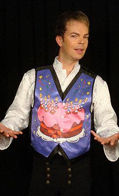 Happy Birthday Vest With DVD (MEDIUM) by Lee Alex