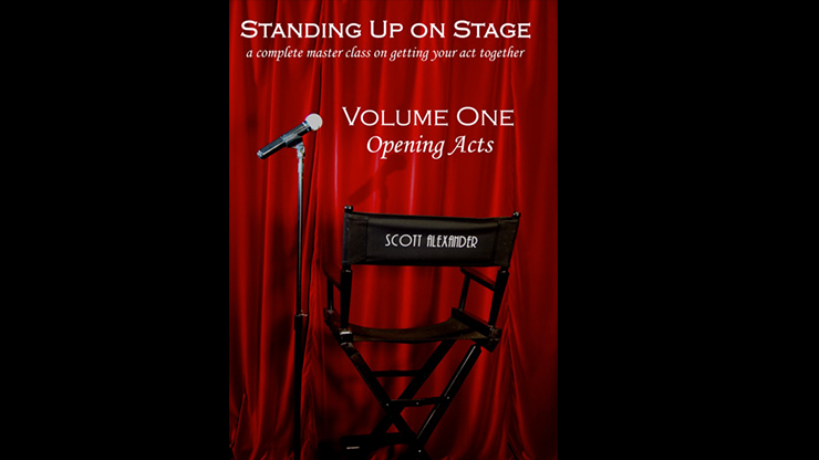 Standing Up on Stage Volume 1 Opening Acts by Scott Alexander