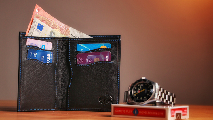 The Rebel Note Wallet (Gimmick and Online Instructions) by Secret Tannery