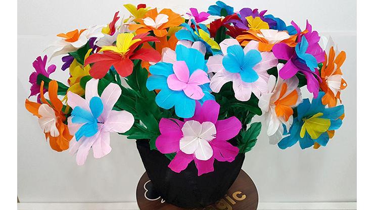 Flower Bouquet From Silk by Tora Magic