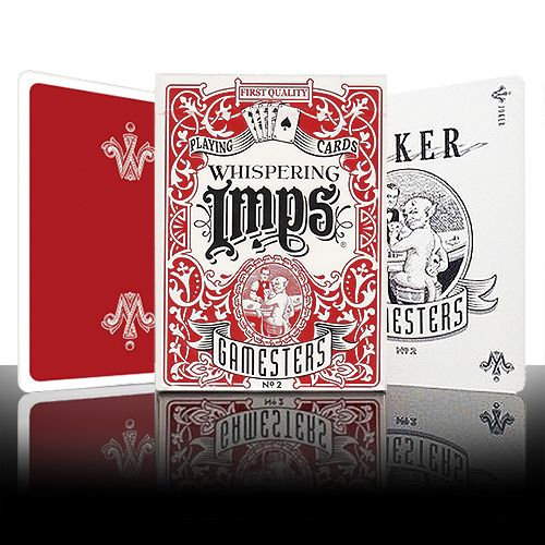 *Gamesters Playing Cards - Red