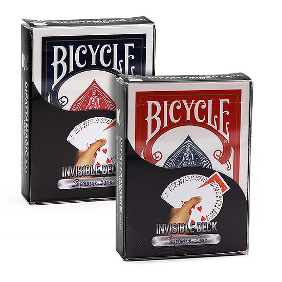 *Bicycle - Supreme Line - Invisible Deck