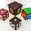 Thumbnail: Color Changing Dice (4 Wooden Die)