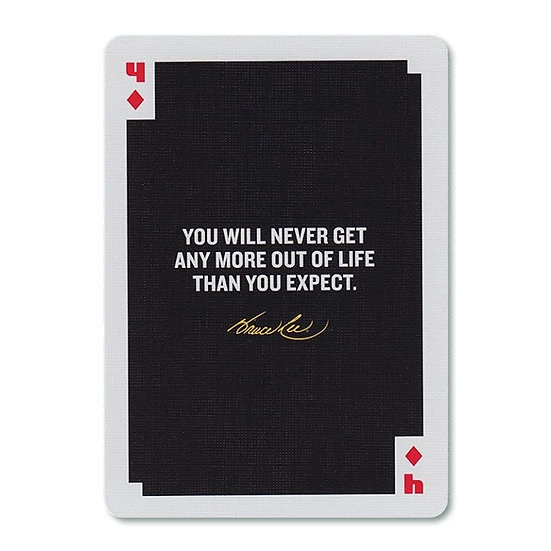 *Bruce Lee Playing Cards