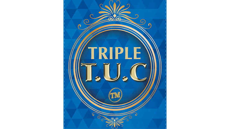 Triple TUC Dollar (D0184) Gimmicks and Online Instructions by Tango