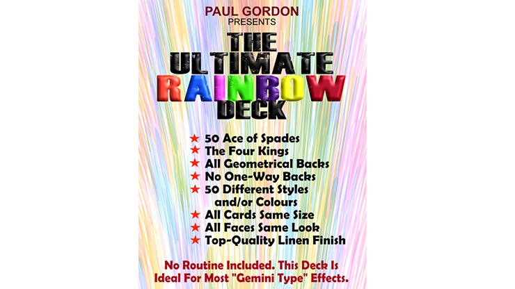*The Ultimate Rainbow Deck by Paul Gordon
