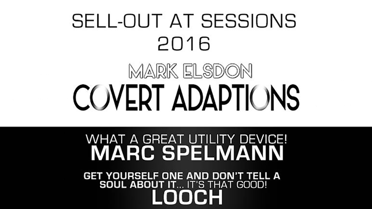 Covert Adaption by Mark Elsdon & James Anthony