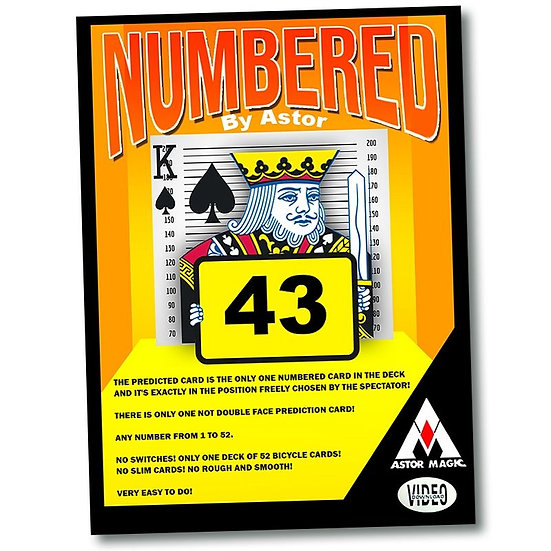 *Numbered by Astor