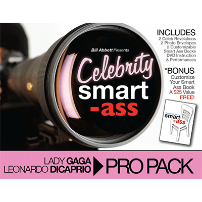 Celebrity Smart Ass Bundle (Lady Gaga & Leonardo DiCaprio) by Bill Abbott