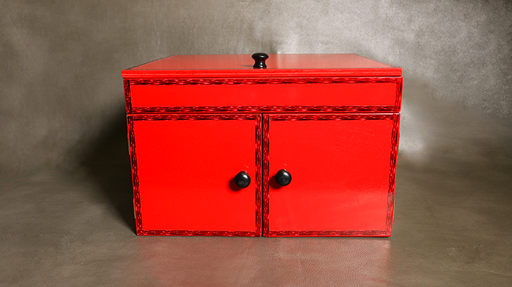 Drop Down Mirror Box (Large/Red) by Ickle Pickle
