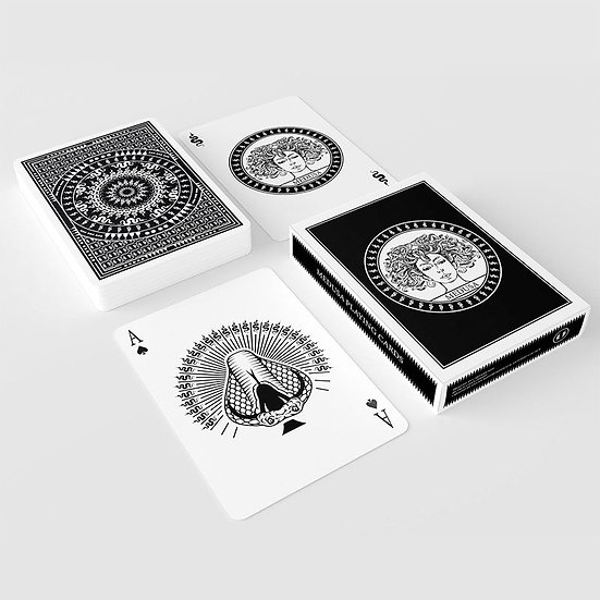 *Medusa Playing Cards with 7 Marking Systems