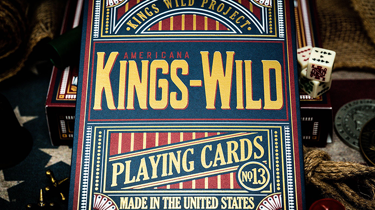 Kings Wild Americanas JUMBO Tuck Case Collectors Set Edition by Jackson Robinson