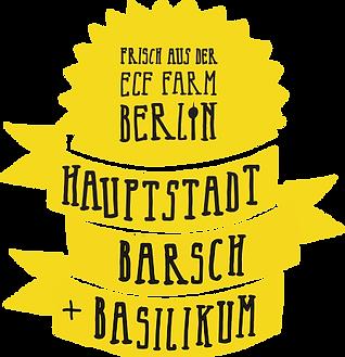 Frisch aus der ECF Farm Berlin!