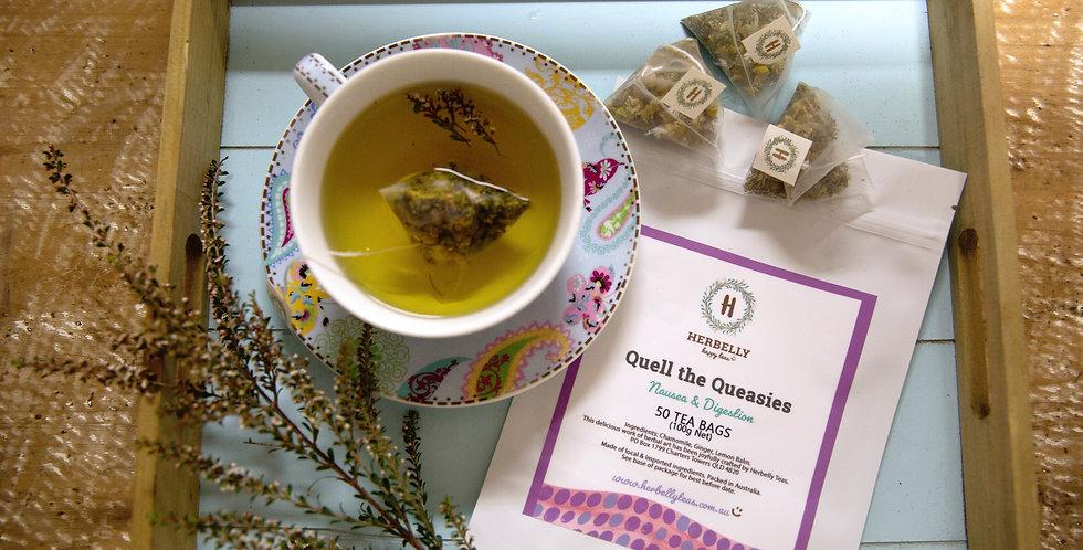 Quell the Queasies Bulk (50 tea bags)