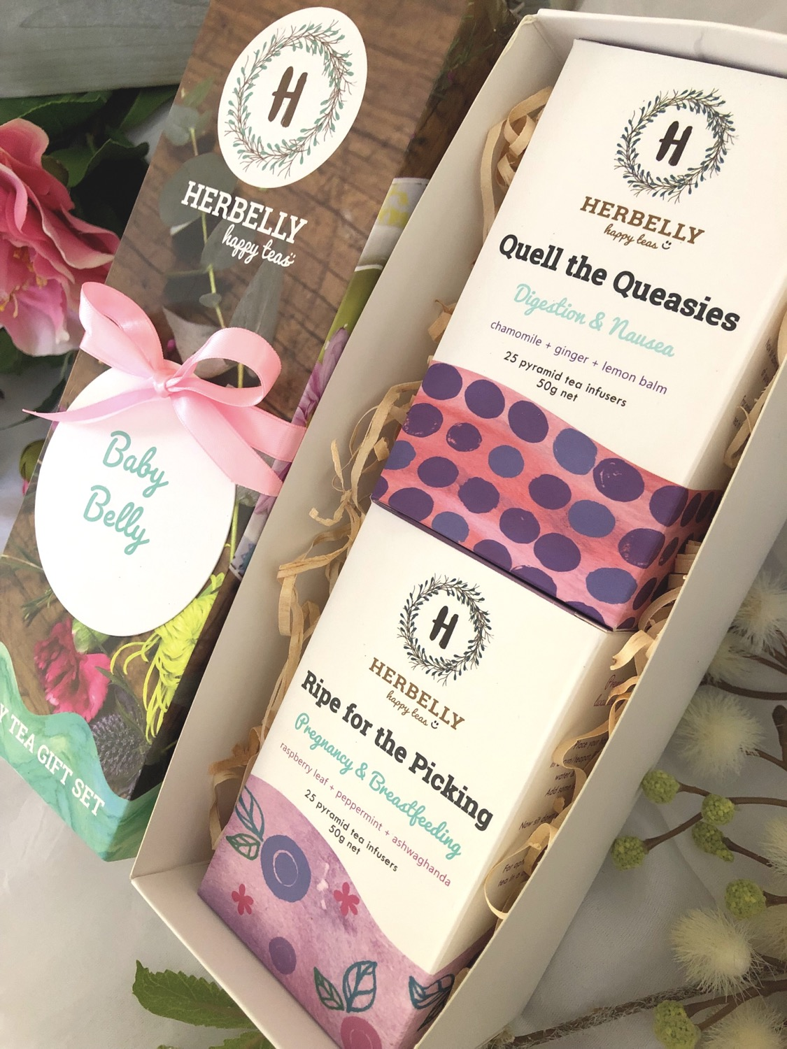 Baby Belly Happy Tea Gift Box