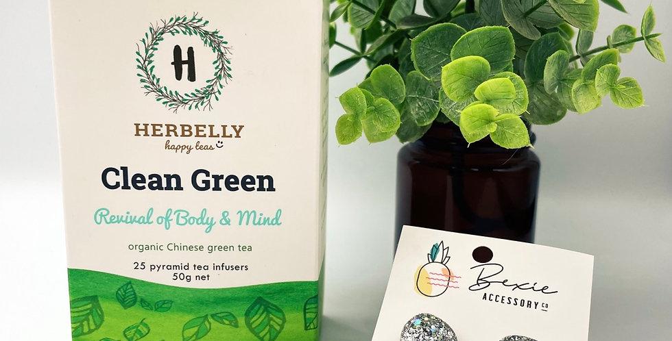 Sip 'n' Sparkle Gift Set - Clean Green