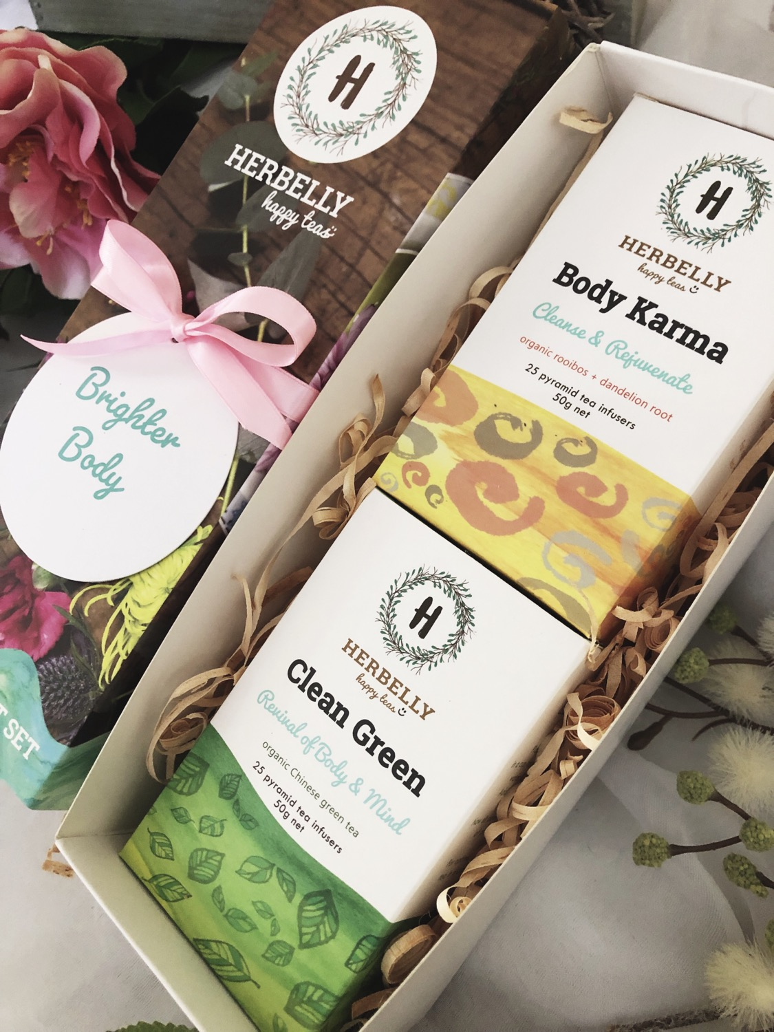 Brighter Body Happy Tea Gift Set