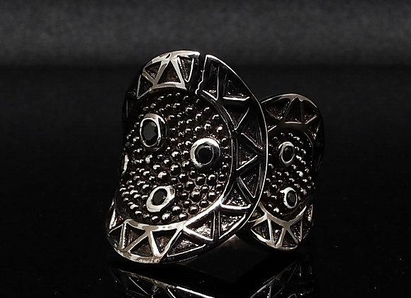 Silver Warrior ring 2