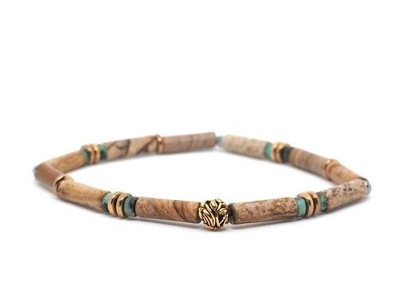 FOREST tube cut bracelet 2