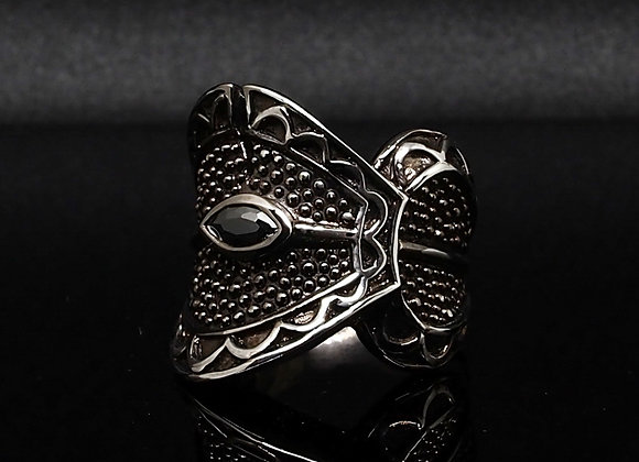 Silver Warrior ring 1