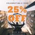 Celebrating 5 Year PAHKIN Sale 25% Off Code : CP 5