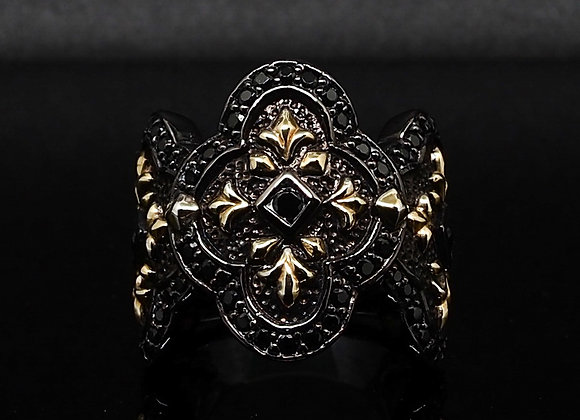 Gold Baroque ring