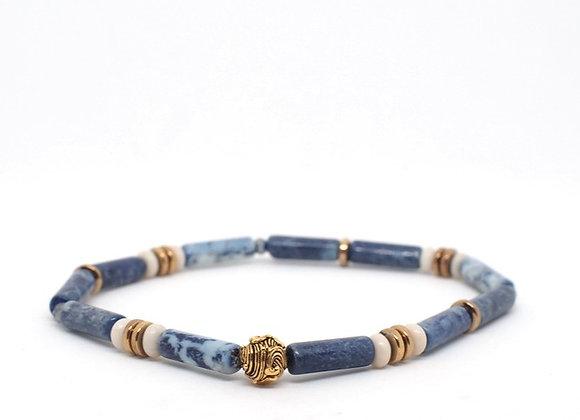 WAVE tube cut bracelet 1