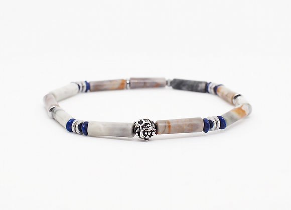 EARTH tube cut bracelet 3