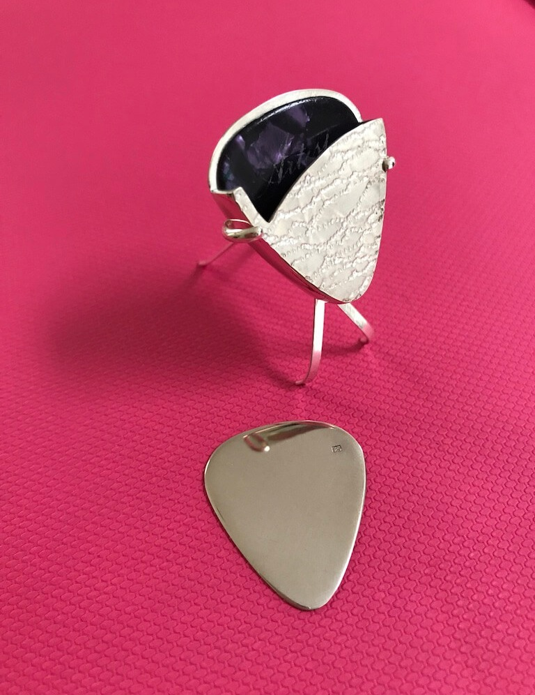 Guitar Pick & Holder