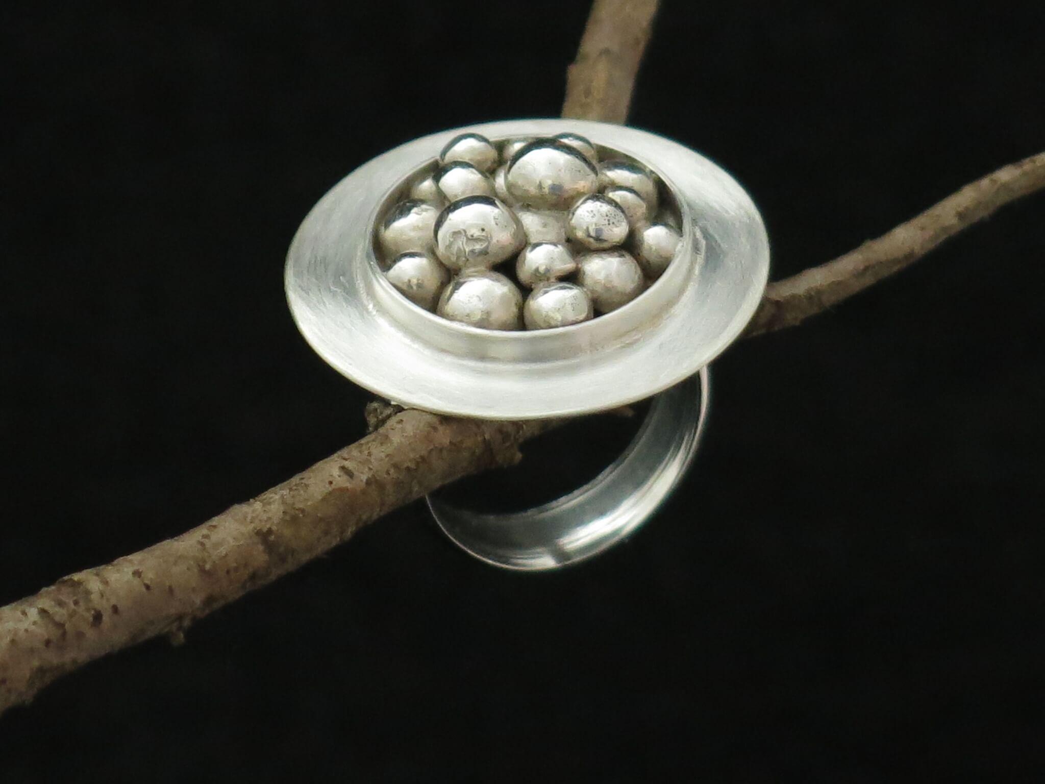Molten Blob Ring