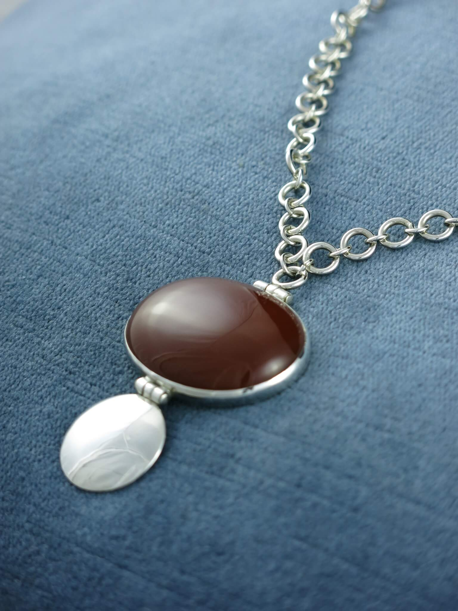 Carnelian Pod Necklace