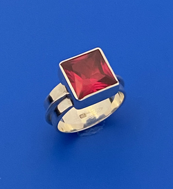 Ruby Planet Ring