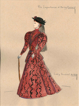 Lady Bracknell Act 2 & 3
