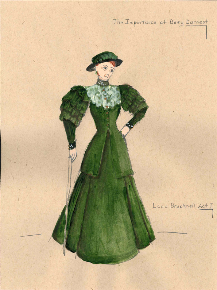 Lady Bracknell Act 1