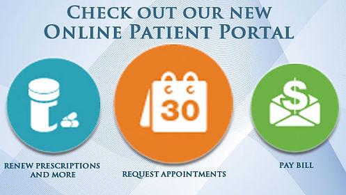 Patient Portal, Online, Record, Happy