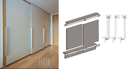 System Total Sliding Door Gear