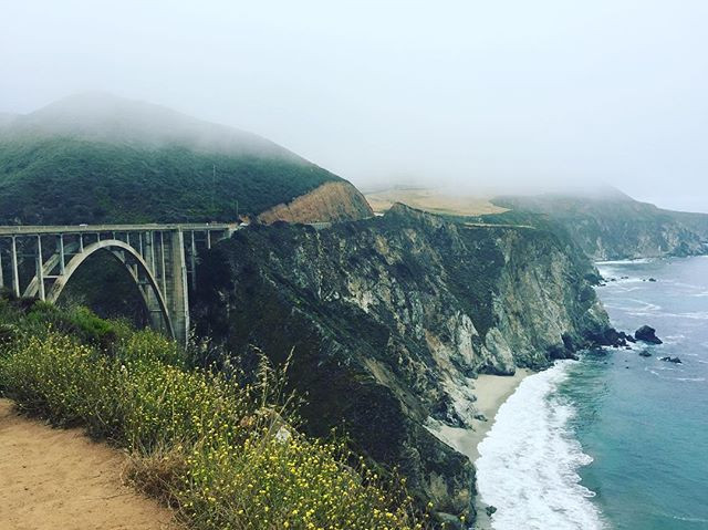 Big Sur coastline and Bixby Bridge