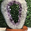 Thumbnail: Amethyst Geode Slice Ring on Wooden Stand 4.45kg
