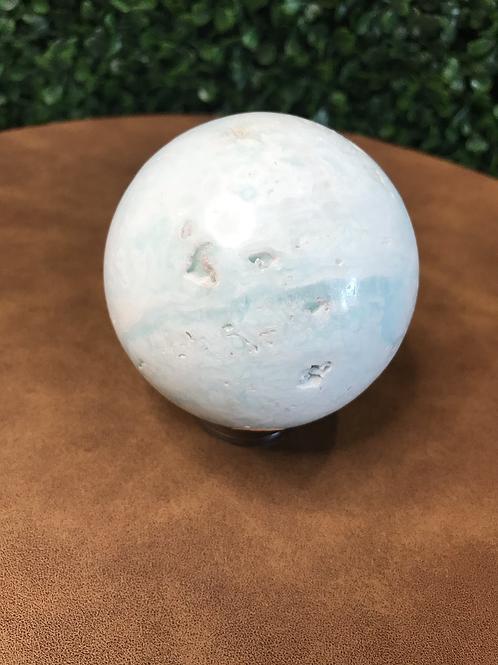 Carribean Calcite Sphere