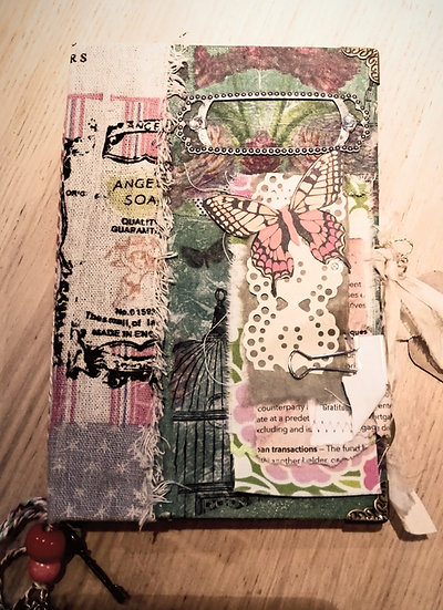 Journal, sketch book (repurposed)SOLD